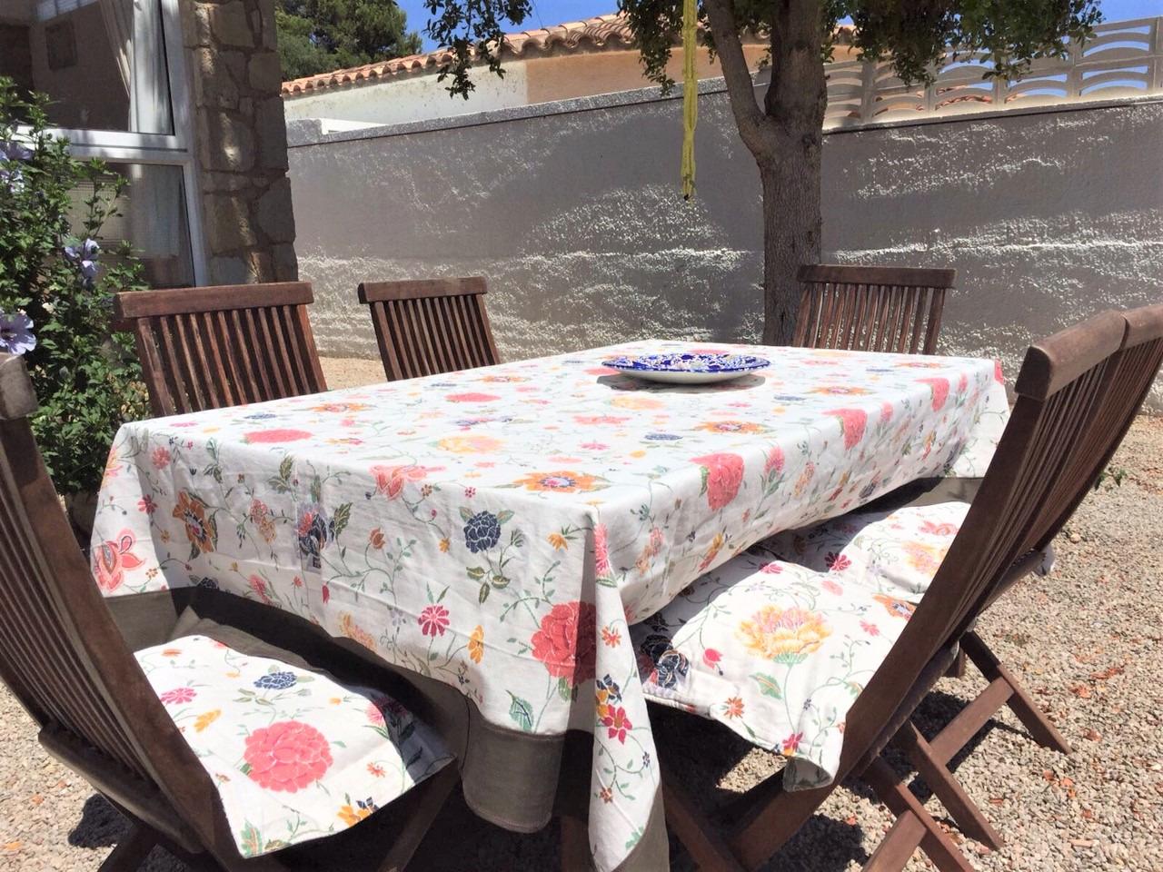 Tischdecke-Garten